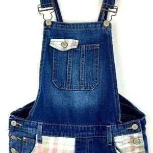 L.E.I. Women's Junior's Small Denim Overall Shorts